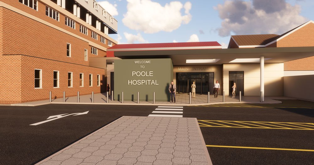 Commencement Of The New Main Entrance Development At Poole